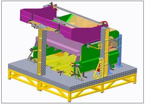 特别适于制造大型的金属结构和机器零件;焊接与铸造,锻造等工艺相结合